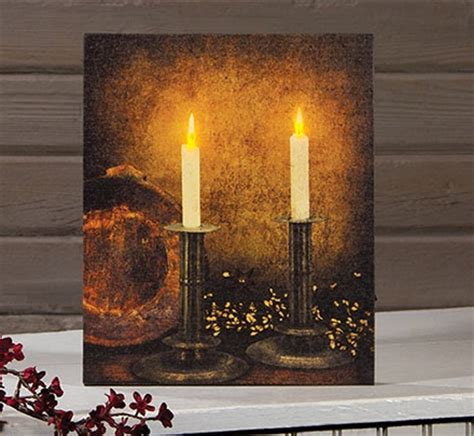lighted canvas lighted canvas pictures battery operated lights flicker