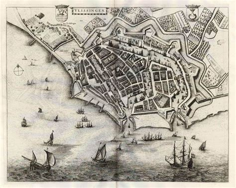 flushing netherlands map 164 best images about golden age maps mappen on