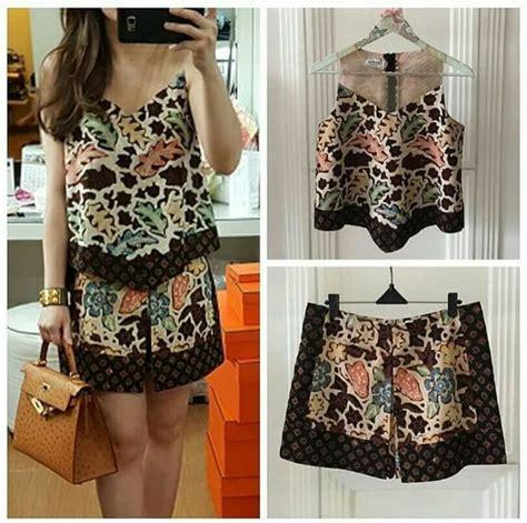 Blus Top Batik Kombinasi best 25 batik fashion ideas on batik dress