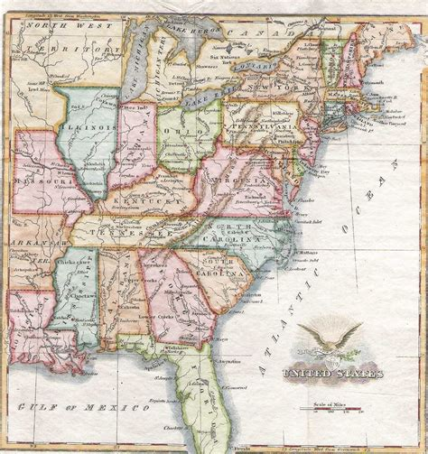 map of the united states in 1830 1830 s pennsylvania maps