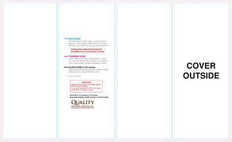 8 5x11 brochure template 8 5x11 brochure templates