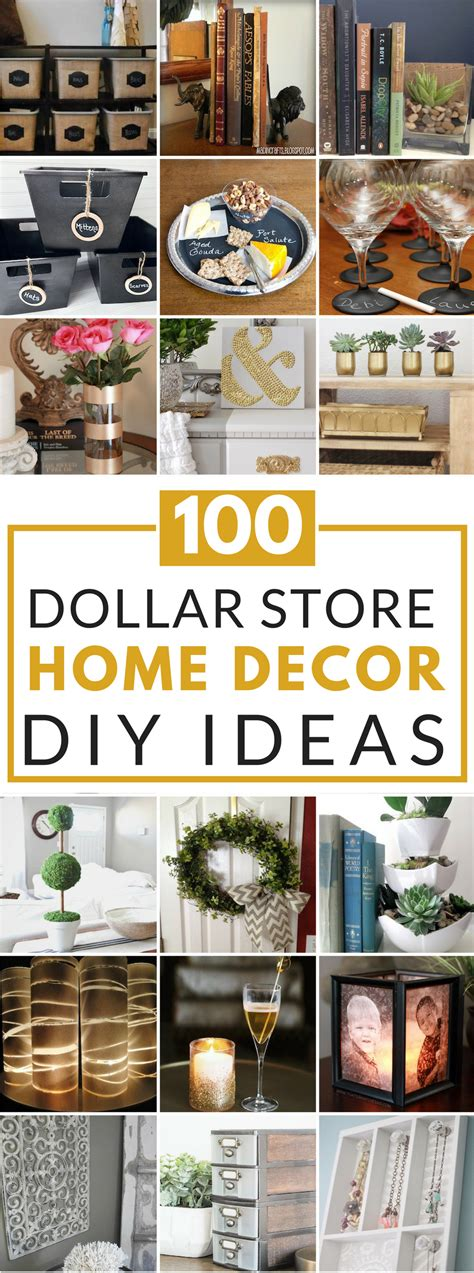 100 dollar store diy home decor ideas prudent pincher