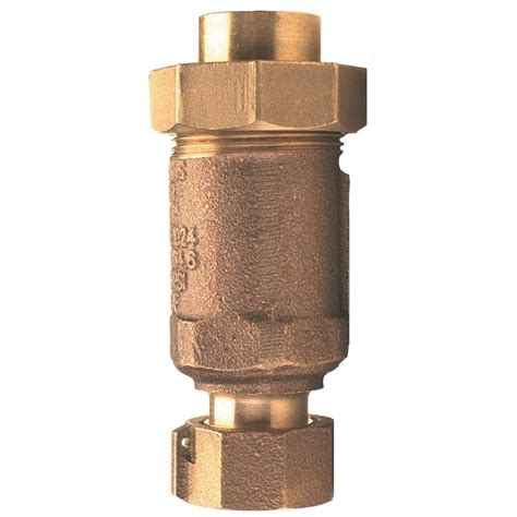 check valve installation in kitchen 1 in lead free bronze union fnpt inlet and outlet dual