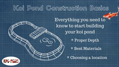 how to make a koi pond in your backyard koi pond construction basics 2
