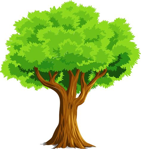 free vector clipart images colorful tree vector clipart image free stock