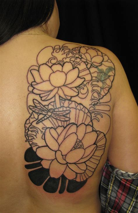 japanese lotus tattoo lotus purr page 2