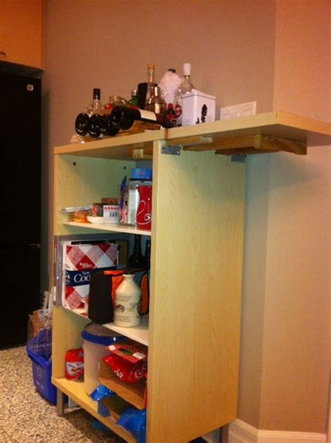 kitchen cart with drop leaf extension ikea hackers kitchen cart with folding extension ikea hackers ikea