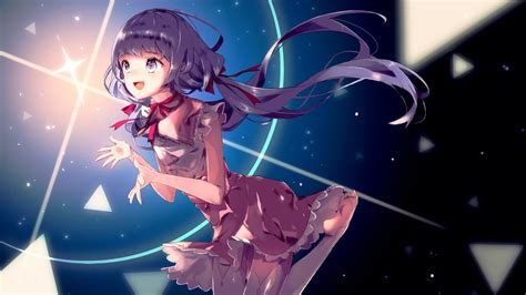 wallpaper anime 1600 x 900 anime fantasy girl wallpapers hd wallpapers id 17800