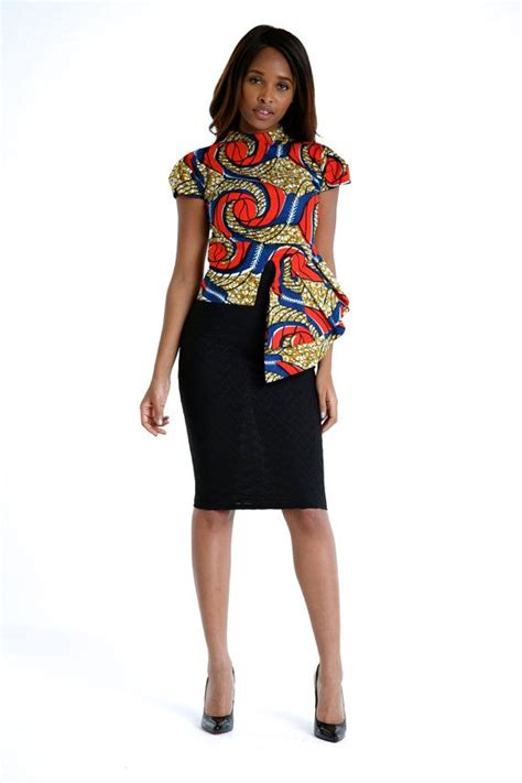 african tops styles african print high low top by bongolicious1 on etsy