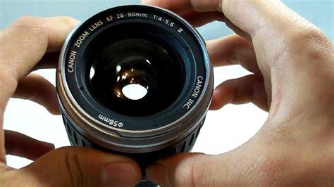 Lensa Canon 28 90 canon ef 28 90mm f3 5 5 6 silver lens review