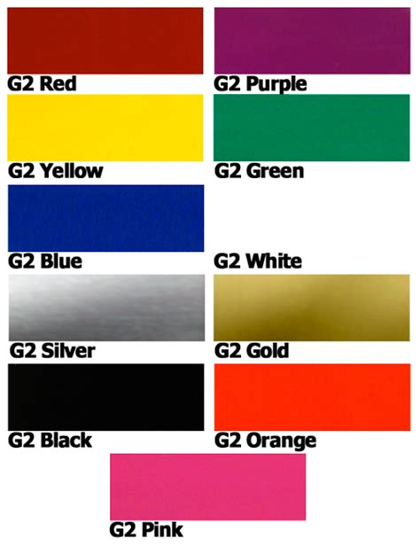 custom auto paint color chart autos weblog