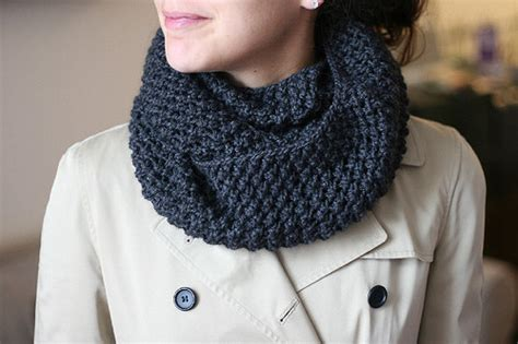 shopping and wearing infinity scarves