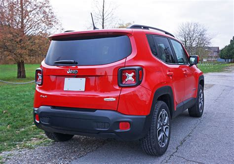 jeep renegade stance 2015 jeep renegade north 2 4 4x4 road test review