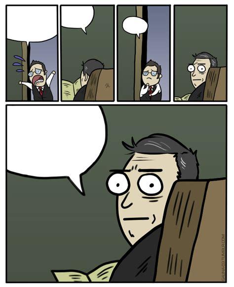 Stare Dad Meme - dad jokes beards the walking dead web comics