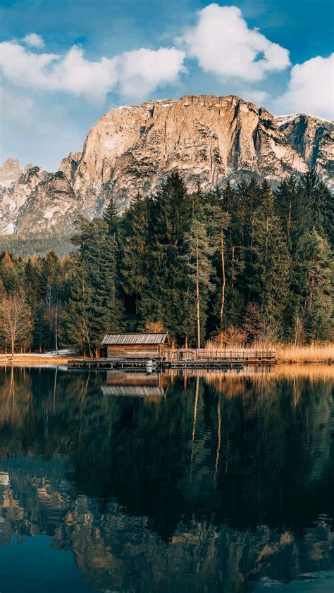 wallpaper mountains   wallpaper  lake forest