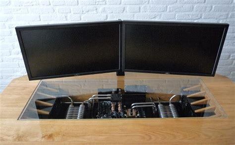 ordinateur de bureau configuration sur mesure un magnifique ordinateur int 233 gr 233 dans un bureau sur mesure