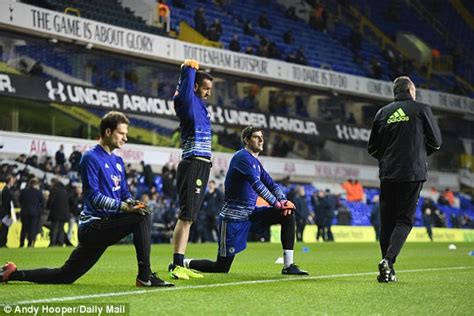 section v football live scores tottenham 2 0 chelsea result daily mail online