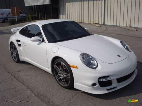 white porsche 911 turbo 2008 porsche 911 turbo coupe in carrara white 784207