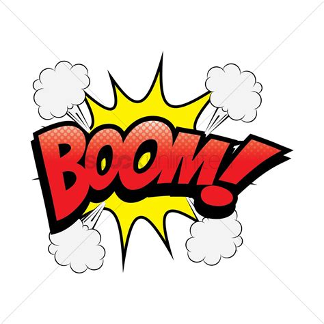 Had A Boom Boom by Comic Boom Vector Image 1631308 Stockunlimited