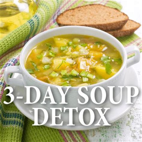 Vegetable Soup Detox Diet Plan by Dr Oz 3 Day Souping Detox Breakfast Berry Soup
