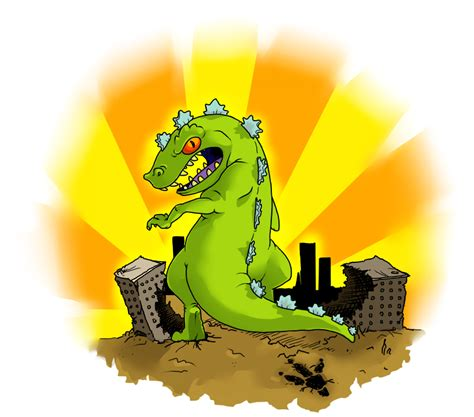 halt i am reptar by z0mb13s on deviantart