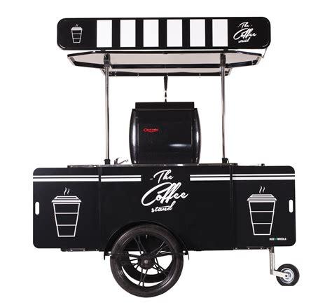 Mobile Coffee Kiosk Franchise by Coffee Cart Bizzonwheels