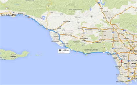 pacific coast highway map map of pacific coast highway in malibu pictures to pin on pinsdaddy