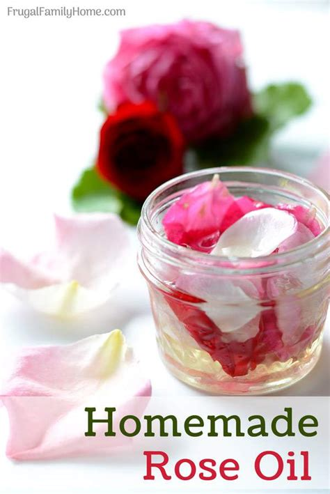 homemade rose food how to make homemade rose oil