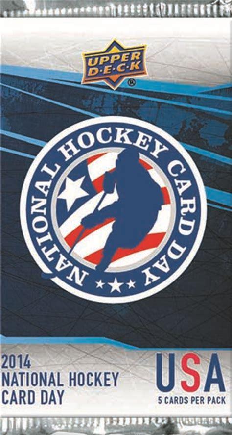 2014 Upper Deck National Hockey Card Day Info, Checklist