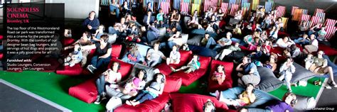 bean bag cinema projects ambient lounge singapore southeast asia