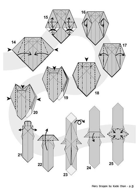 How To Make An Origami Fiery - 17 best images about paper origami and folding diagrams on