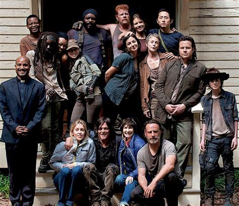 the walking dead season 5 casting call with recurring role reedusmcbridedaily twd cast season 5 behind the scenes