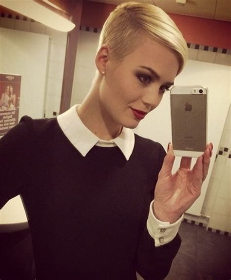 pixie undercut woman 2015 women getting hair buzzed and shaved