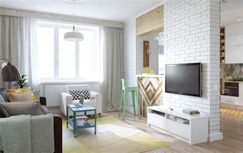apartamentos decorados de 45m2 apartamento de 45m2 blog do casamento