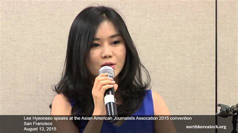 0007554850 the girl with seven names lee hyeonseo quot the girl with seven names quot speaks at aaja