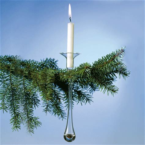 weihnachtsbaum kerzenhalter glas webshop glasi baumkerzenhalter 3er set