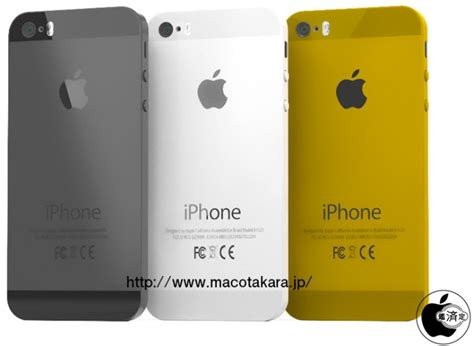iphone 5s color options more claims of iphone 5c name iphone 5s with gold