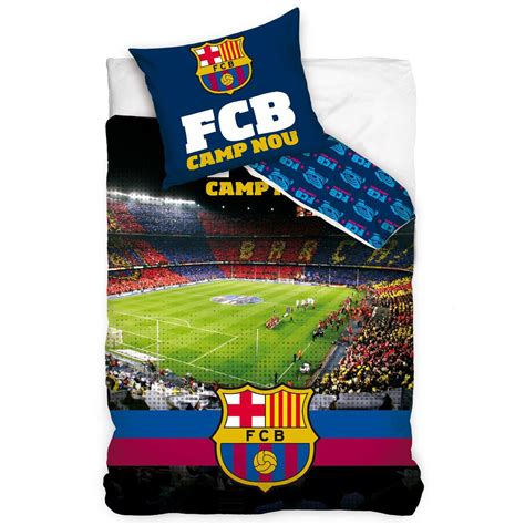 fc barcelona bedding official fc barcelona single duvet covers bedding bedroom football new ebay