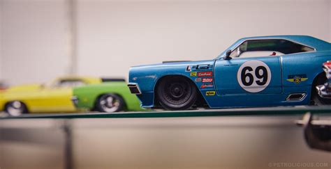 Diecast Rally Set restoring large cars leads to large die cast collection