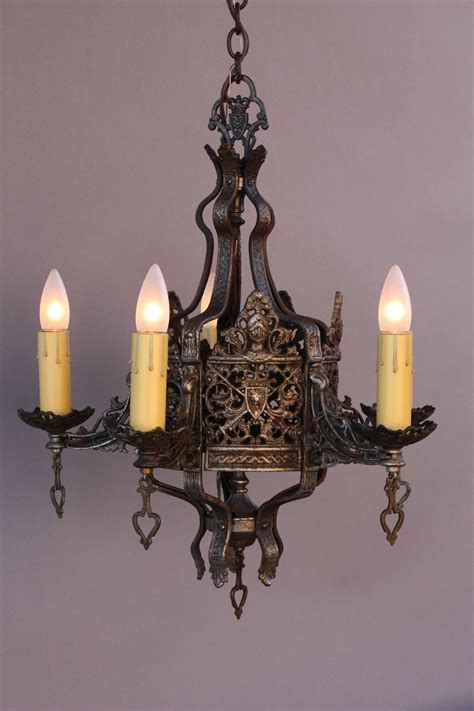 1920s Chandelier Exquisite 1920s Revival Chandelier At 1stdibs