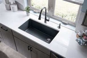 Bisque Kitchen Faucets quartz sinks everything you need to know qualitybath