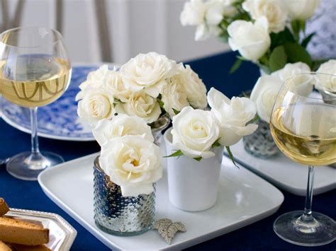 elegant dinner simply elegant dinner party hgtv