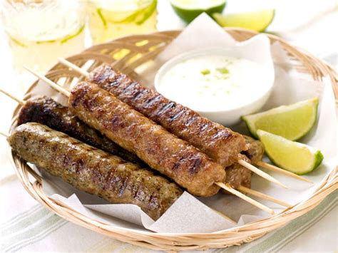 kebab recipe spicy kebab recipe with yogurt sauce and pita breads