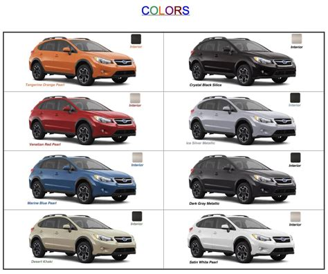 crosstrek subaru colors new coloure for subaru for 2015 html autos post