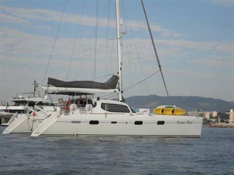 catamaran azuli à vendre privilege 585 em port de beaulieu catamarans a vela