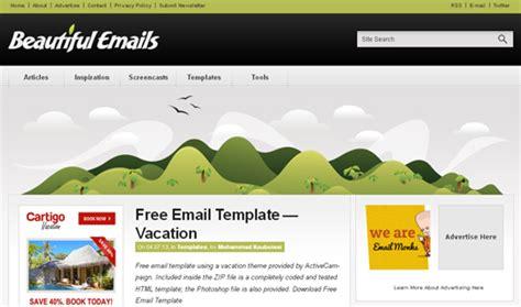 100 免费的html电子邮箱 Newsletter模板 Open资讯 Beautiful Email Templates Free