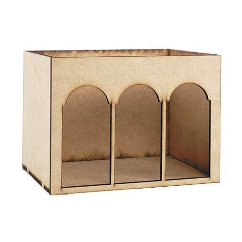 dollhouse room box dollhouse miniature arched room box kit dollhouse