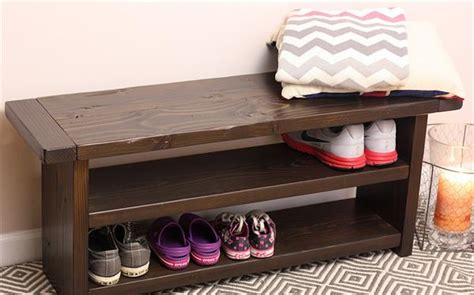 diy shoe rack bench creative ideas to use the pallets in diy projects pallet