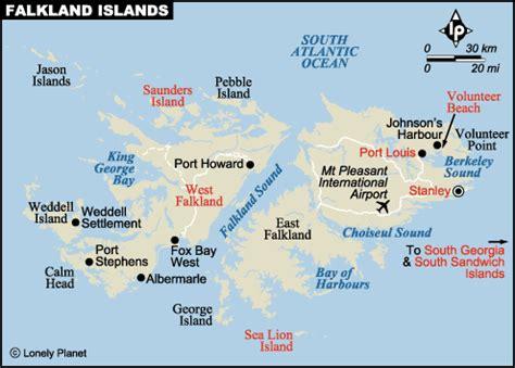 map of the falkland islands index of south america falkland islands maps