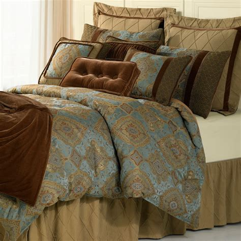 Luxury Comforter Sets 4 luxury comforter set hiend accents luxury